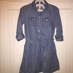 Carter's Girls' denim dress
